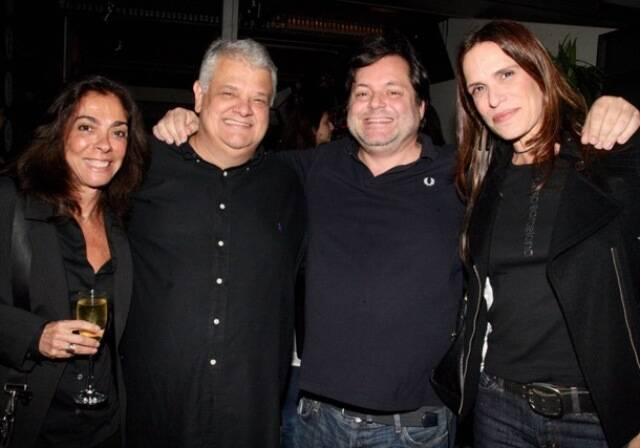 Ana Luiza Rego, João Viegas, Gilberto Buffara e Mika Chermont de Britto