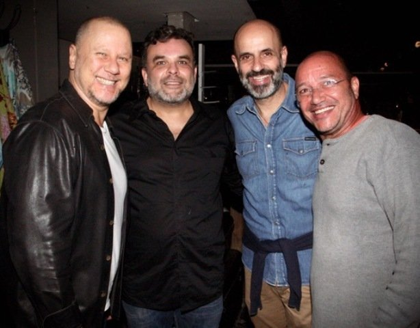 Gustavo Carvalho, Ariosto Amado, Claudio Gomes e Werner Capeto