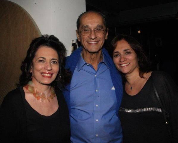 O arquiteto Luiz Eduardo Indio da Costa com a mulher, Ana Maria e a filha Gaby Indio