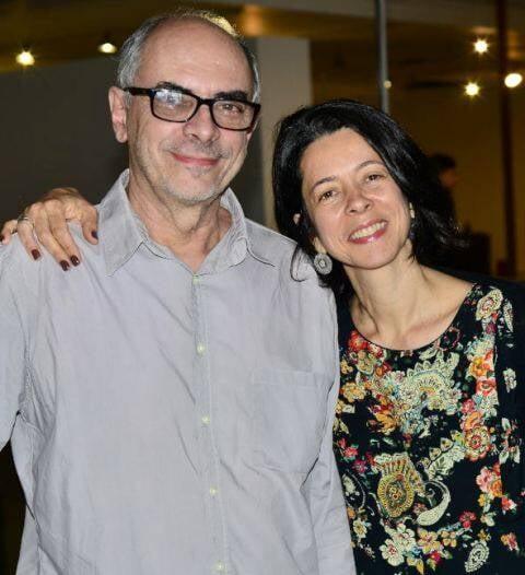 Milton Machado e Claudia Oliveira