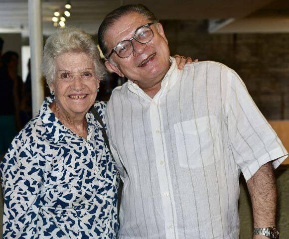 Thereza Miranda e Luciano Figueiredo