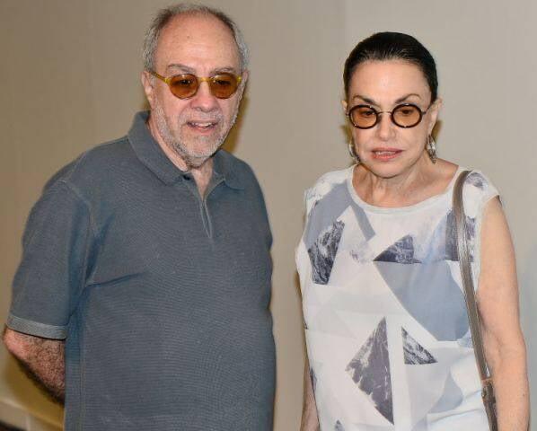 Sergio Augusto e Maria Lúcia Rangel