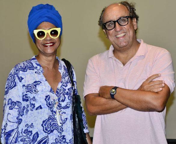 Nara Reis e Luiz Camillo Osório