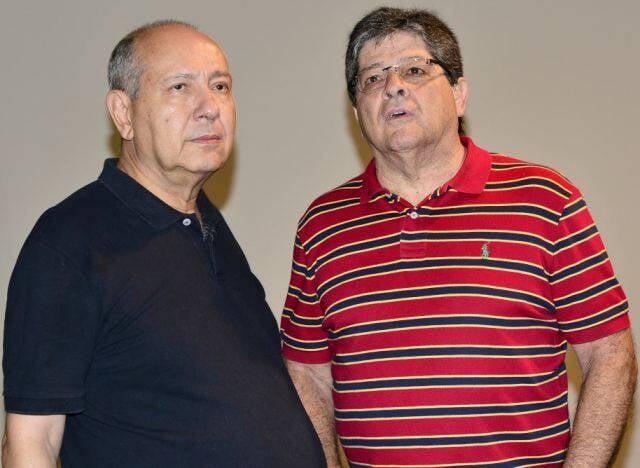 Fernando Cocchiarale e Carlos Alberto Gouvêa Chateaubriand