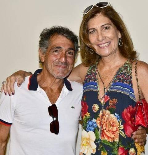 Luiz Pizarro e Sílvia Gouvêa Chateaubriand