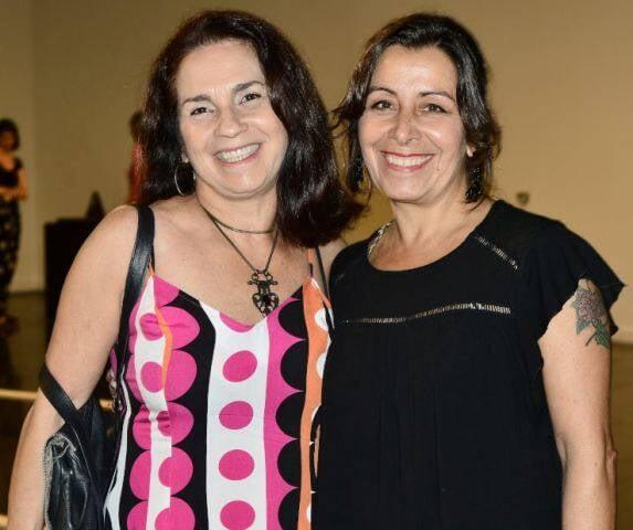 Lígia Teixeira e Lúcia Meneghini