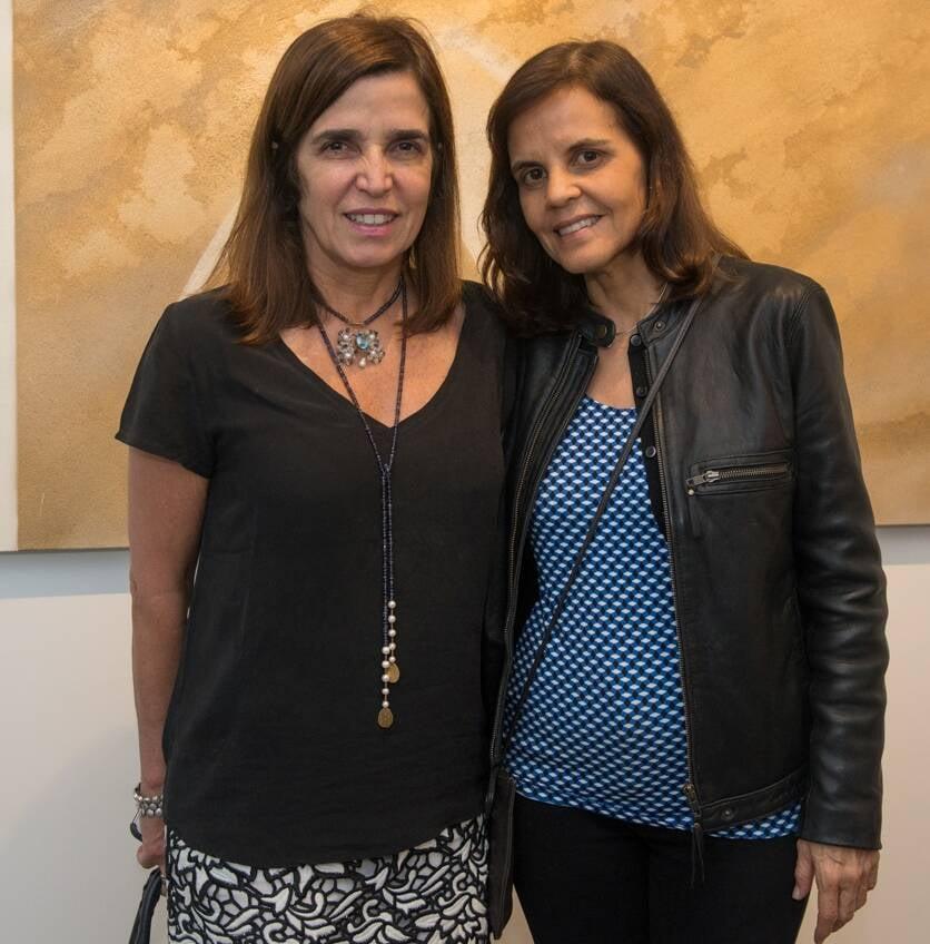 Andrea Chicharo e Angela Falcão / Foto: Cristina Lacerda