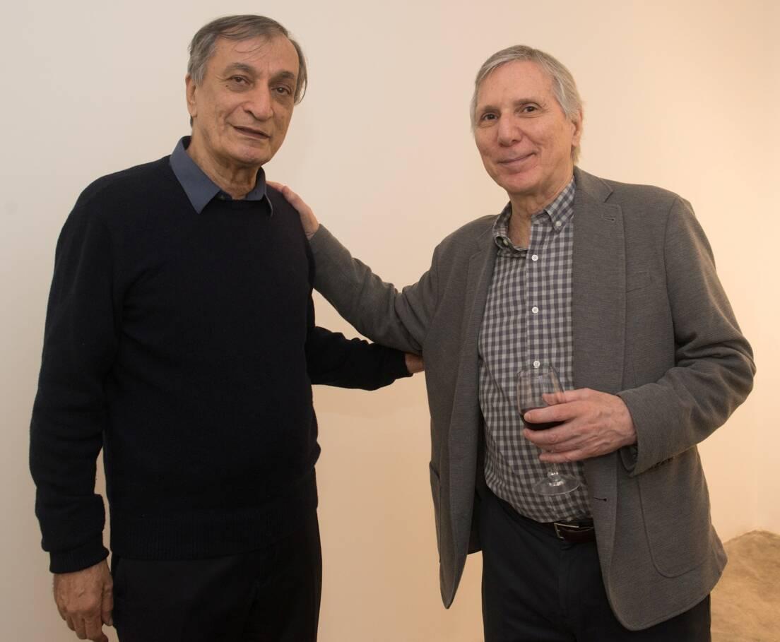Antonio Cícero e Carlos Zilio / Foto: Cristina Lacerda