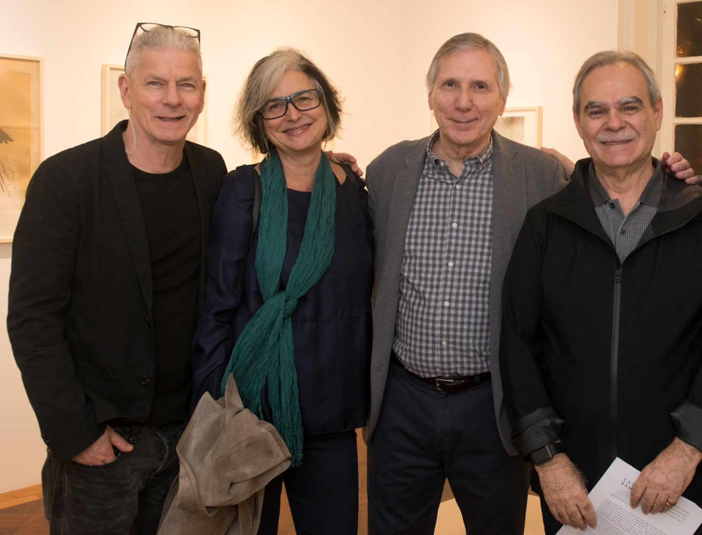 Daniel Feingold, Elizabeth Jobim, Carlos Zilio e Max Perlingeiro / Foto: Cristina Lacerda