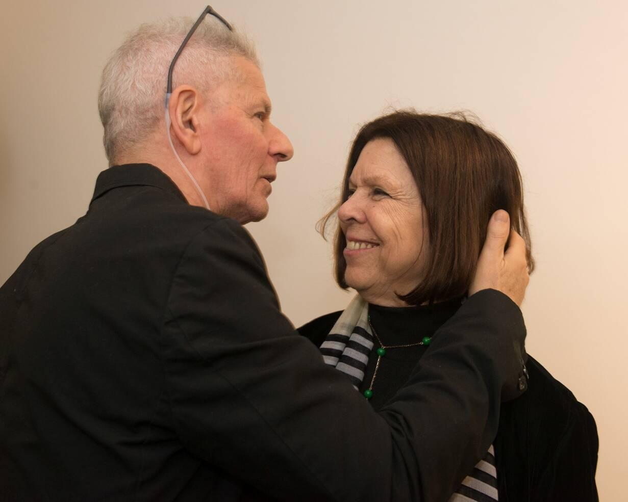 Daniel Feingold e Vanda Klabin / Foto: Cristina Lacerda