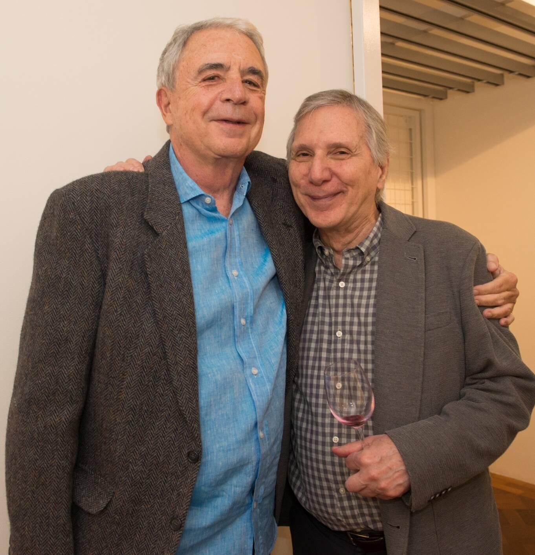 Luiz Celso Monteiro de Andrade e Carlos Zilio / Foto: Cristina Lacerda