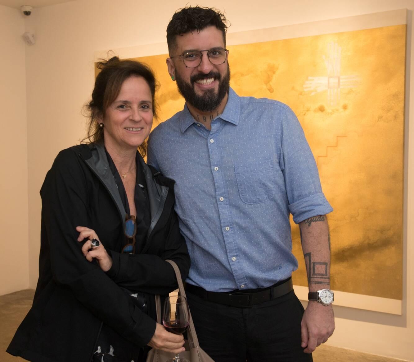 Patricia Quentel e Bruno Miguel / Foto: Cristina Lacerda