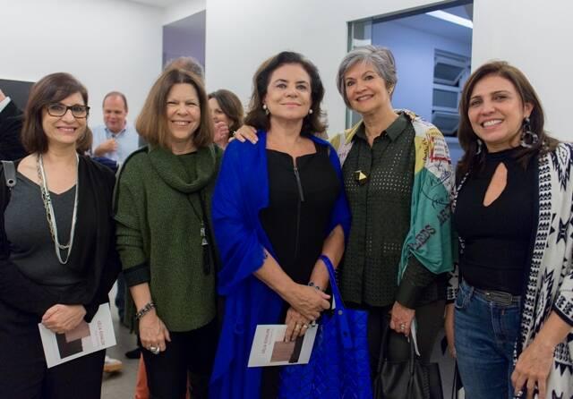 Sula Danowski, Vanda Klabin, Cristina Burlamaqui, Maria Carmem Perlingeira e Fernanda Junqueira