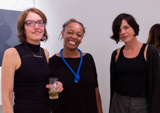 Célia Euvaldo, Eleison Van De Beuque e Patricia Lambert
