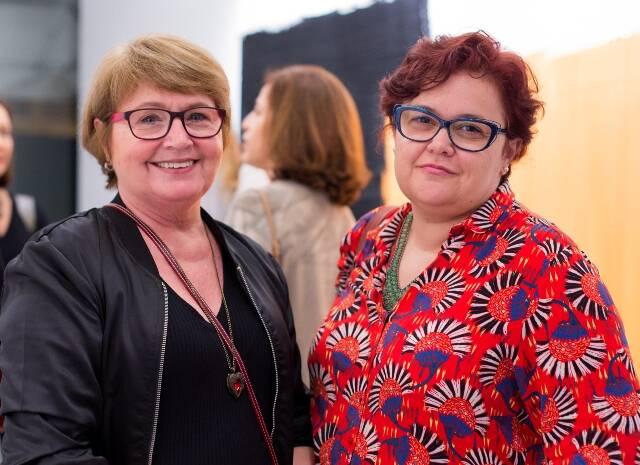 Sonia Wysard e Aline Reis