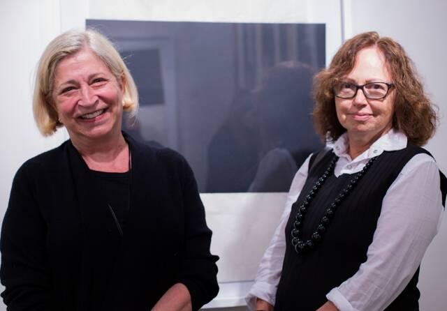 Patricia Liz e Silva com Meri