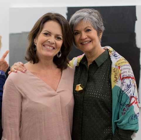 Stella Ramos e Maria Carmem Perlingeira