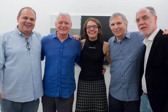 Maneco, Antonio Manoel, Célia Euvaldo, Carlos Zílio e Angelo Venosa