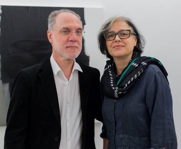 Angelo Venosa e Elisabeth Jobim