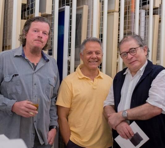 Marcos André, Manfredo de Souza Neto e Luciano Figueiredo