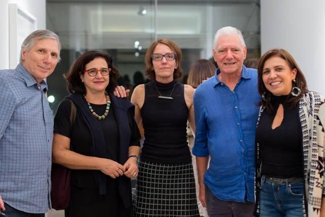 Carlos Zílio, Malu Fatorelli, Célia Euvaldo, Antonio Manoel e Fernanda Junqueira