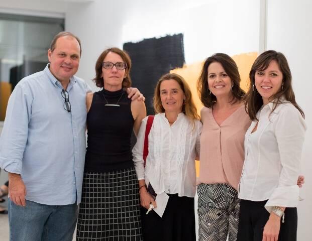 Maneco, Célia Euvaldo, Gabriela Machado, Stella Ramos e Cristina Magalhães