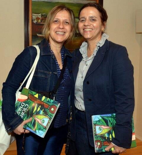 Marcia e Beatriz Milhazes