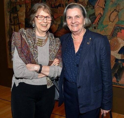 Piedade Grinberg e Rosa Scorzelli