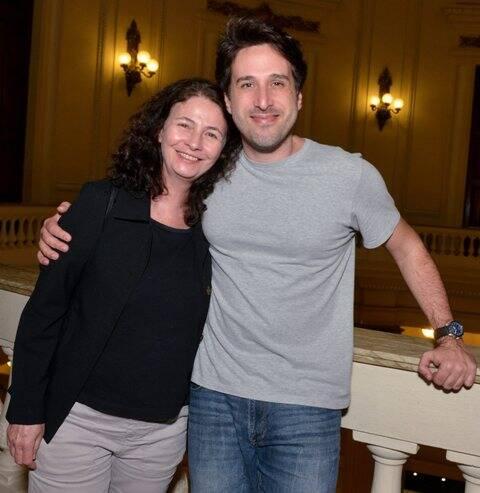 Tereza Volponi e Bruno Vianna