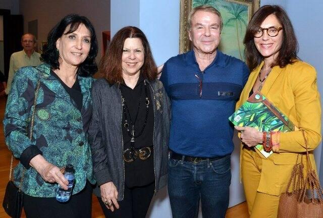 Denise Mattar, Vanda Klabin, Luiz Carlos Hutter e Christiane Torloni