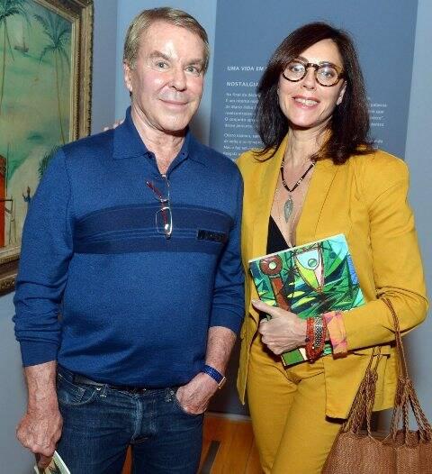 Luiz Carlos Hutter e Christiane Torloni