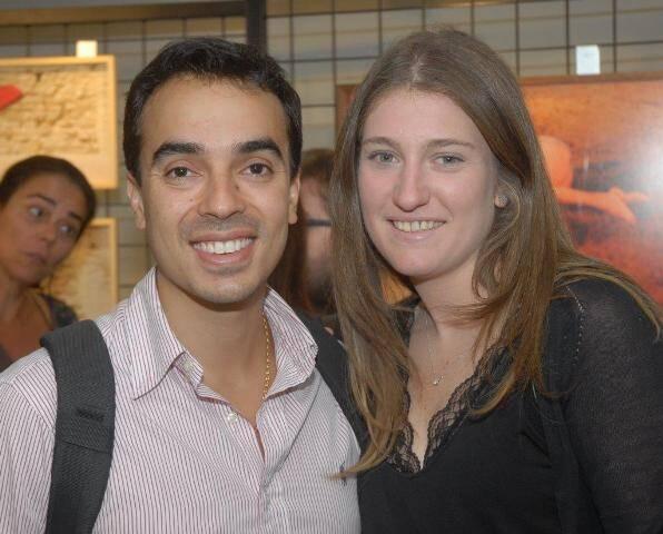 Felipe Calil Filho e Vanessa Plass