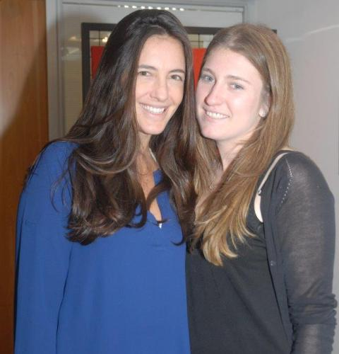 Gabriela Clayton e Vanessa Plass