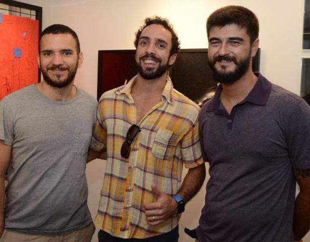 Hermano Luz, Saulo Faria de Vasconcellos e João Nitcho