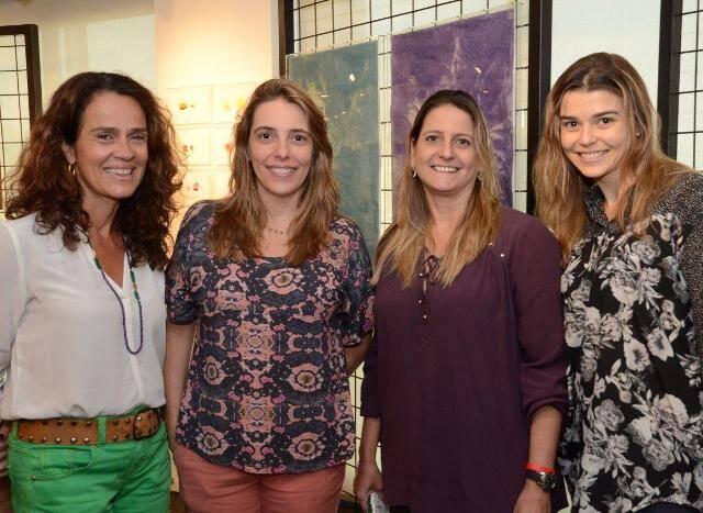 Isabel Valadares, Fernanda Goulart, Priscila Iglesias e Mayra Sotto