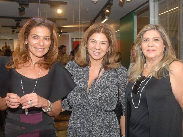 Jacqueline Plass, Ariete Middleton e Marli Sampaio