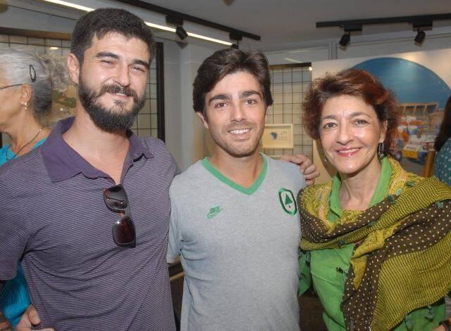 João Nitcho com André e Sonia Mattos