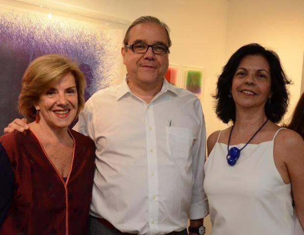 Lúcia Meira Lima, José Francisco Gouvêa Vieira e Martha Pagy