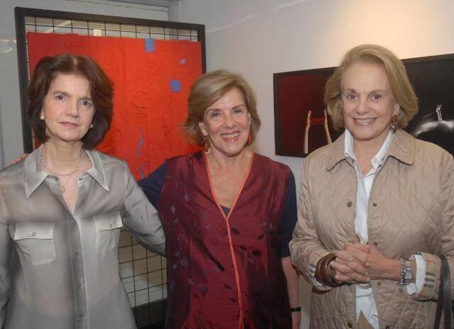 Maria Candida, Lúcia Meira Lima e Rosa Cordeiro Guerra