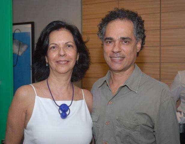 Martha Pagy e Franklin Pedrosa
