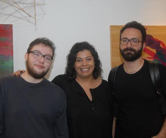 Pedro Gandra, Raphaela Leite e Victor Mattinê