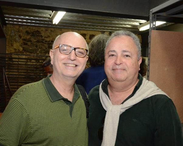 Alberto Sabino e Roberto Padilha