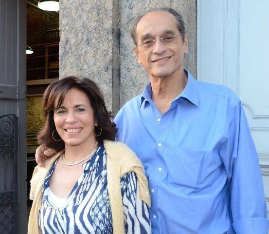 Ana Maria e Luiz Eduardo Indio da Costa