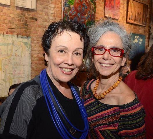 Analu Prestes e Ruth Freihoff