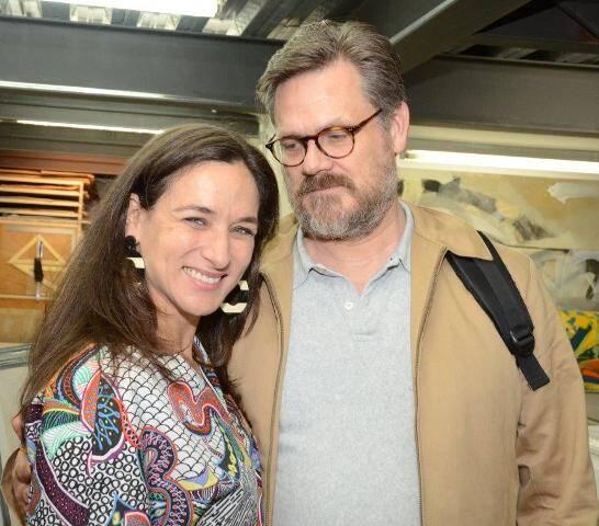 Isabel Löfgren e Mats Hjelm