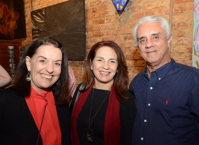 Marilou Winograd, Lígia Teixeira e Mario Fonseca