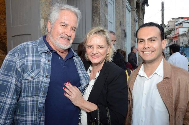 Oscar Ferreira, Vera Walesca e Pedro Henrique de Sousa