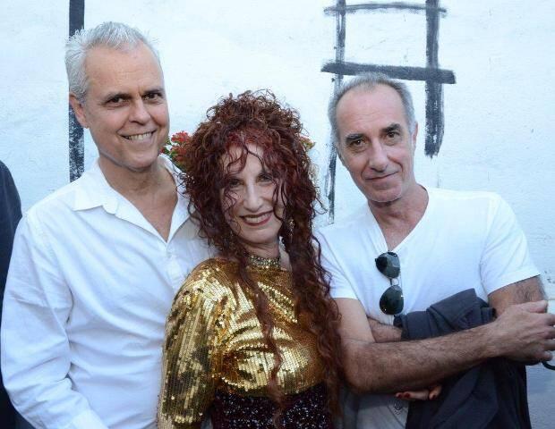Ricardo e Susi Cantarino com Ricardo Becker