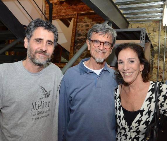 Rodrigo Pedrosa, César Coelho e Alicinha Silveira