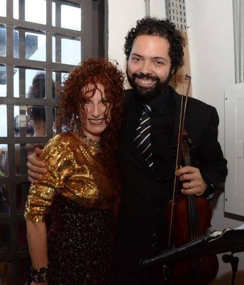 Susi Cantarino e Roger Lins
